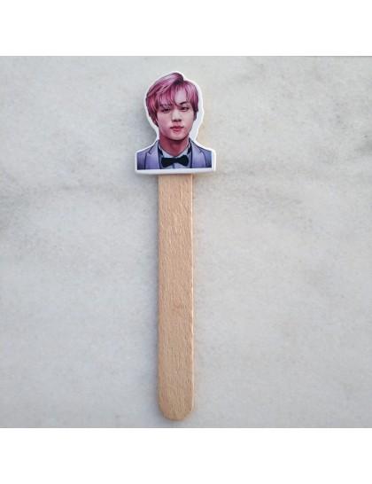 BTS  Ahşap Kitap Ayracı Jin
