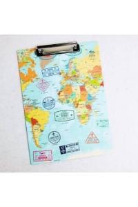 Dünya Haritası Sekreterlik