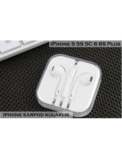 iPhone EarPod Kulaklık Orjinal - 5 5C 5S 6 6S 6S PLUS SE Uyumlu