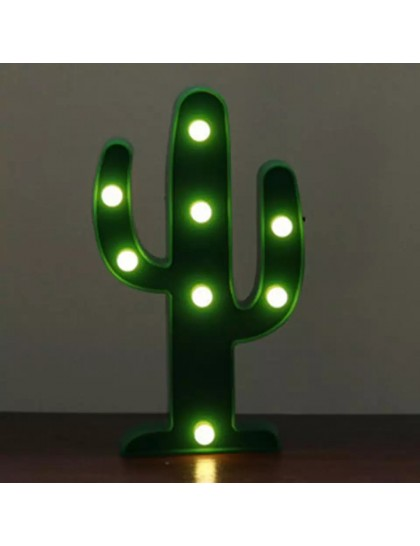 Dekorasyon Led Kaktus