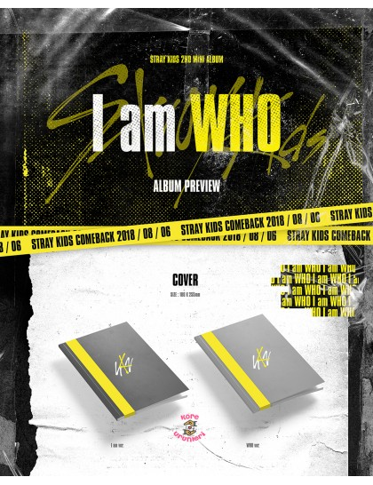 Stray Kids - I am WHO Albüm
