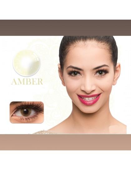 Naturel Amber Rengi Lens