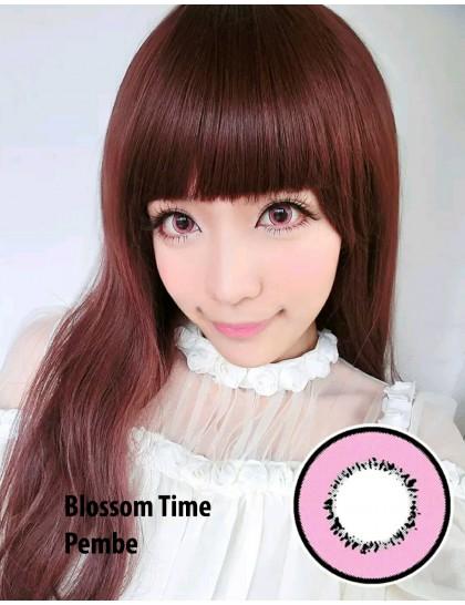 Blossom Time Pembe  Circle Yıllık Lens