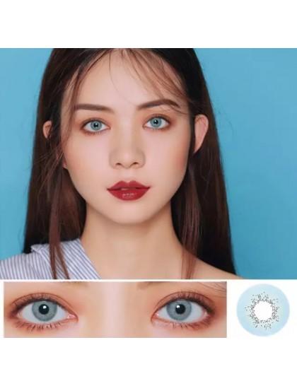 Naturel Renk Lens Mavi