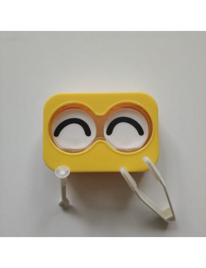 Sarı Surat Lens Kutusu