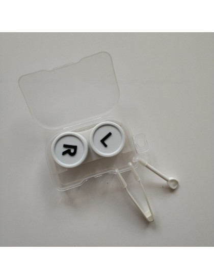 Şeffaf Beyaz Lens Kutusu
