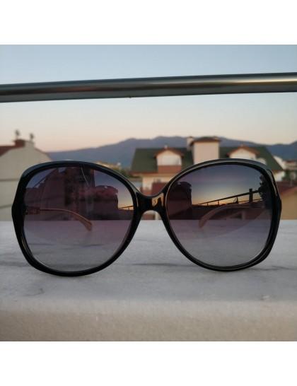 Oval Kalın Çerveli Güneş Gözlüğü