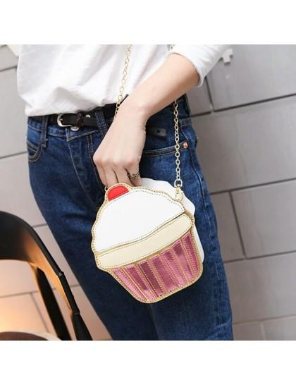 Cupcake Yandan Omuz Çanta