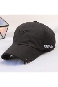Piercing Şapka Siyah