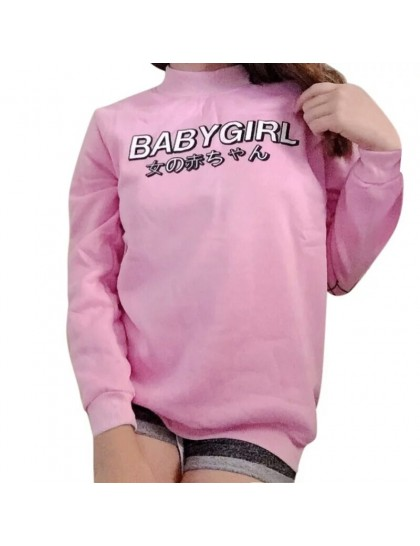 Baby Girl Harajuku Sweat Pembe