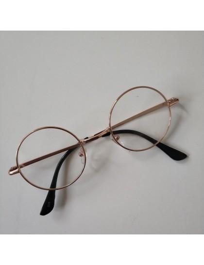 Harry Potter Tarzı  Gözlük  Rosegold