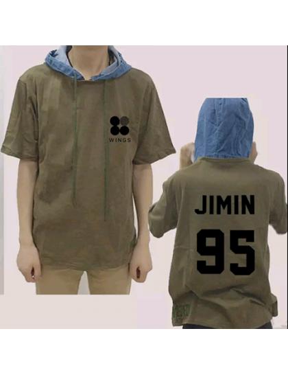 BTS Kot Kapüşonlu Tshirt
