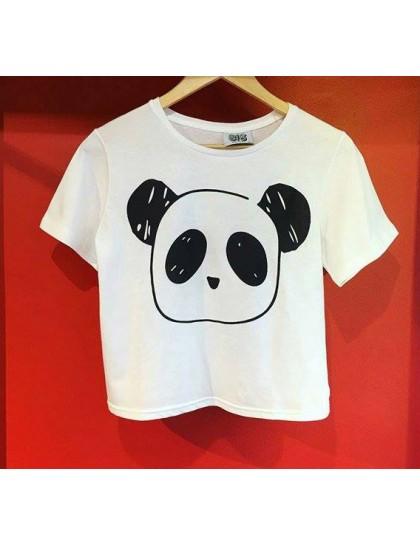 Panda Crop Tshirt