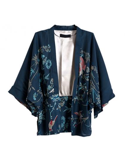 Sonbahar Harajuku Japon Kimono
