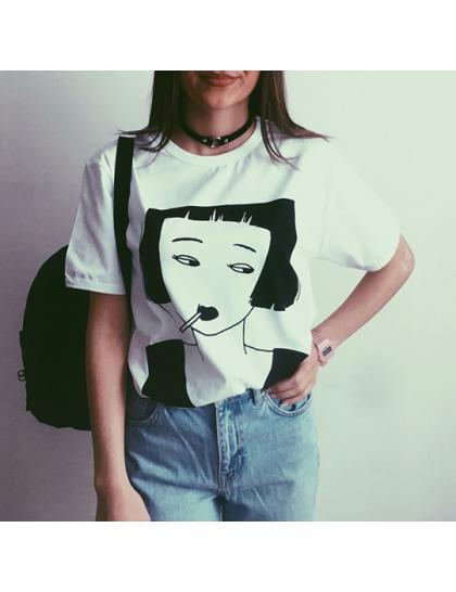 Genki Smoking Girl Tshirt